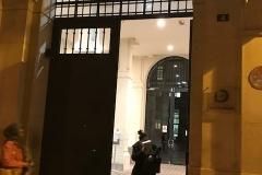 L'entrée rue Valette