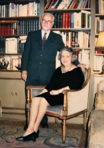 Alberto Benveniste et son épouse, Sara Marcos de Benveniste