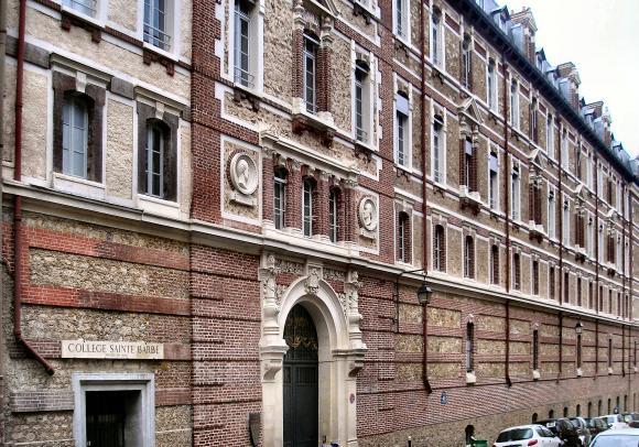 Paris : le Collège Sainte-Barbe.